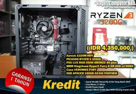 RYZEN 3 3200G ( GAMING EDITING ) Bisa Kredit