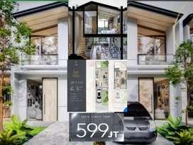 Rumah Mewah 2 Lantai 599JT, Cendana Icon Lippo Karawaci