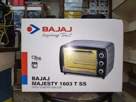 Bajaj Majesty 1603 T ss Oven Toaster Griller(with company warranty)