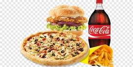 Pizza and fast food need worker