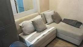 DIsewakan Apartemen Bassura 2BR Tw D 26BC Furnished, Cipinang, JakTim