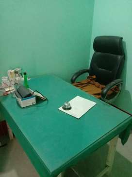 Doctor clinic equipments and furniture for sale