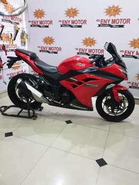 Kawasaki Ninja 250 cc thn.2017 super promo cash/credit/TT