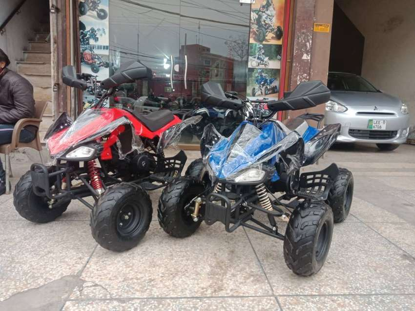 Durable & Powerful Engine Atv Quad 4 Wheels Deliver In All Pakistan 0