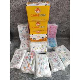 Masker Anak 3ply CARE ION