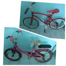 sepeda pixy + sepeda mini tanggung ukuran 16..baca dulu gan