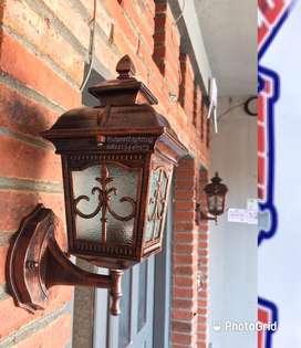 Lampu hias tempel dinding klasik minimalis lampu pagar lampu pilar