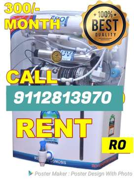 Rent !! Multistage RO WATER purifier Only 300 Per month just call
