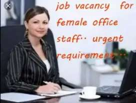 Reception jobs calling jobs in Office require females staff