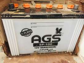 AGS battery 100 amp