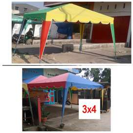 Jual tenda kafe jualan dan kain terpal tenda (bs antar skitr medan)