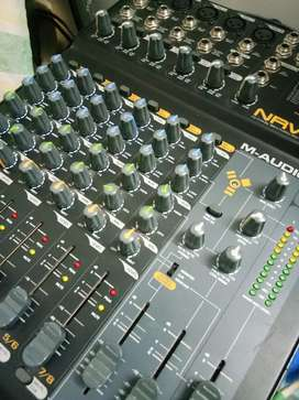 M-AUDIO NRV-10 FIREWIRE 10/10 MIXER