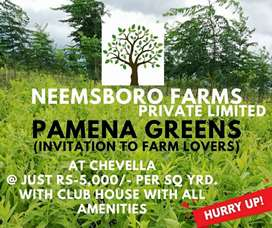 Hurry..! Prices increasing from 1st Dec Own a farm plot at low price