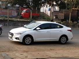 Hyundai Verna 2019 at rent