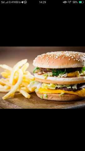 Fast food cook