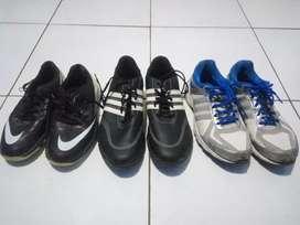 Sepatu golf Nike dan Adidas & Adidas running