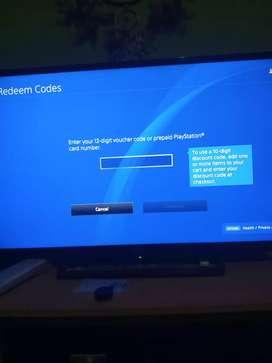 Voucher redeem codes ps4