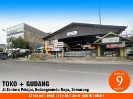 Gudang dan Toko Bangunan di Kedungmundu Raya, Tembalang, Semarang Kota