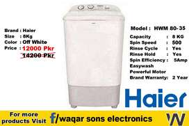 Haier Washing machine Single Tub jackpot Westpoint National Super Asi