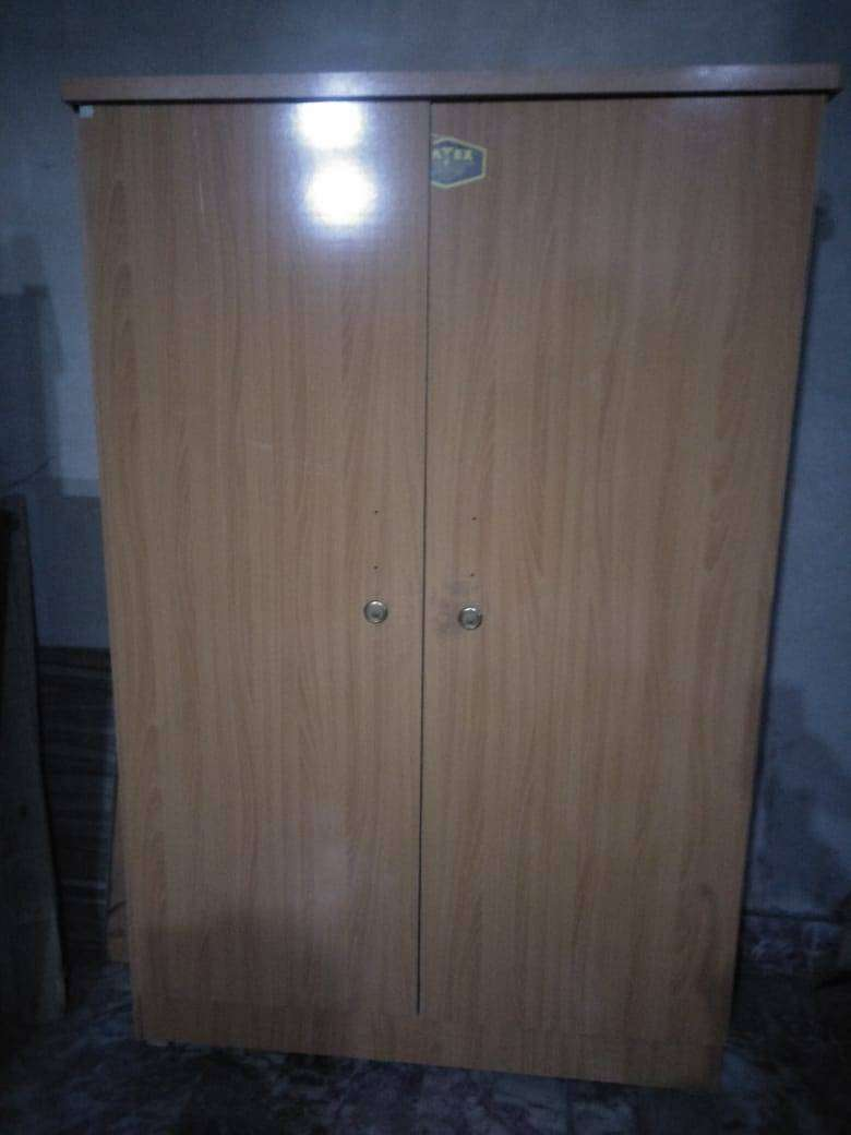 6x4 New Large wooden Lamination Wardrobe  Almari Double Door 0