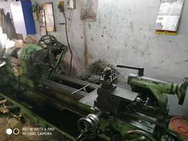 7Ft Nagmati make Lathe Machine
