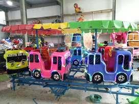 mainan pasar malam labirin ND bus tayo odong kereta fiber