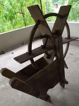 Water wheel using in paddy fields