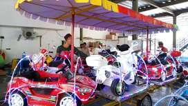 kereta mini panggung odong odong kincir mini gerobak MRC besar