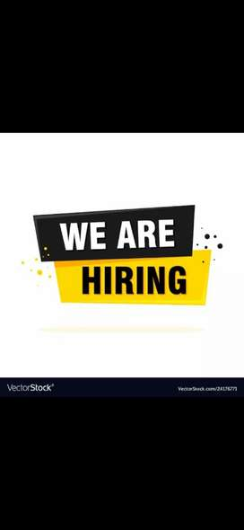 Hiring male female's staff for part time jobs