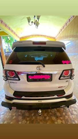 Toyota Fortuner VNT TRD 2013 Putih banyak bonus