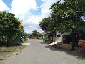 Tanah 163m dijual dekat rumah sakit'nur hidayah Trimulyo Jetis Bantul