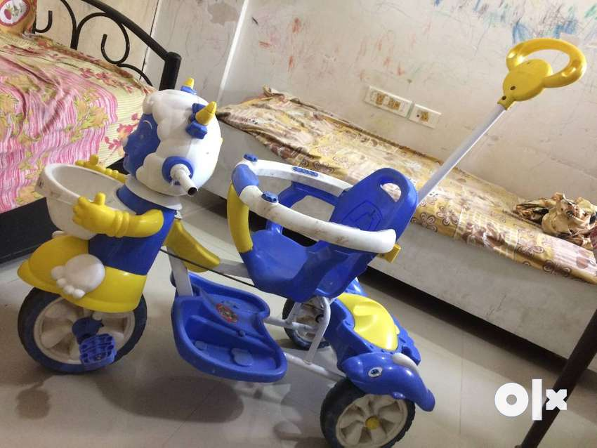 Kids tricycle hardly used for a year.