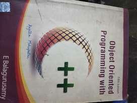 E balguruswamy OOPs 5th edition Book