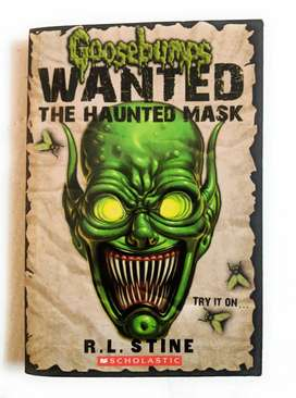 Goosebumps Wanted: The Haunted Mask by R.L. Stine