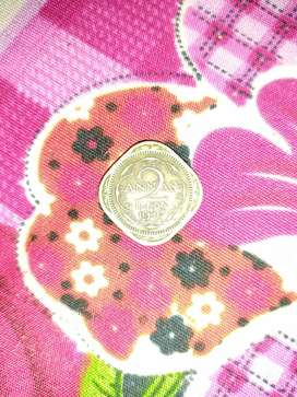 Indian 1947 coin