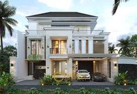 Jasa Arsitek Jakarta Desain Rumah 515m2 - Emporio Architect