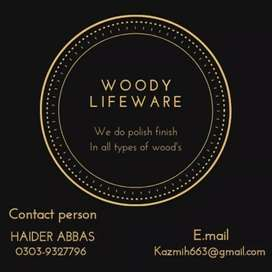 I am polish fernictur and door and wardrobe and kitchen