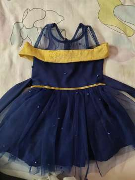 New blue frock with beats