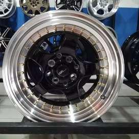 VELg racing ring15×7-8 HSRwheel dobel pcd 8×100-114,3 cicilan 0%