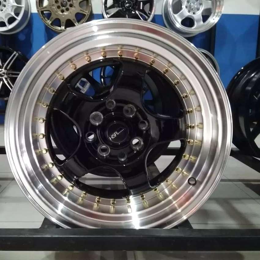 VELg racing ring15×7-8 HSRwheel dobel pcd 8×100-114,3 cicilan 0% 0