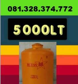 Tandon Air 3300 Liter Kebumen toren bahan plastik pvc
