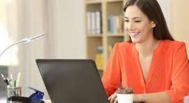 Data Entry Executive For Part Time ,Work From Home