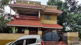 Fully furnished two-storeyed independent 3 BHK house near Nettayam