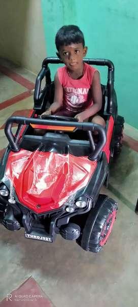 Child battery car