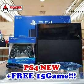 (NEW) PS4 HDD 500GB +FULLGAME BEBAS PILIH