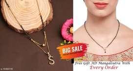 Women beautiful mangalsutra one free chain