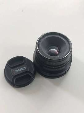 Jual Lensa 7 artisan 25mm f 1.8 for sony E-mount (apsc)