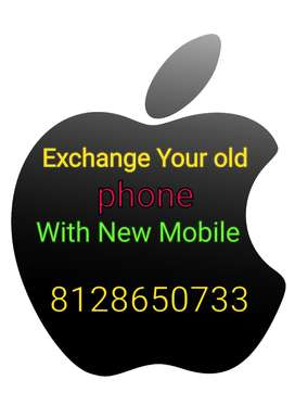 Exchange Your old phone with New Mobile