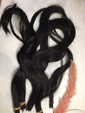 Rambut sambung asli (human hair)