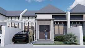 Rumah Siap Bangun SHM,  FREE PAJAK DAN BIAYA SURAT2 GODEAN KM 9.5M